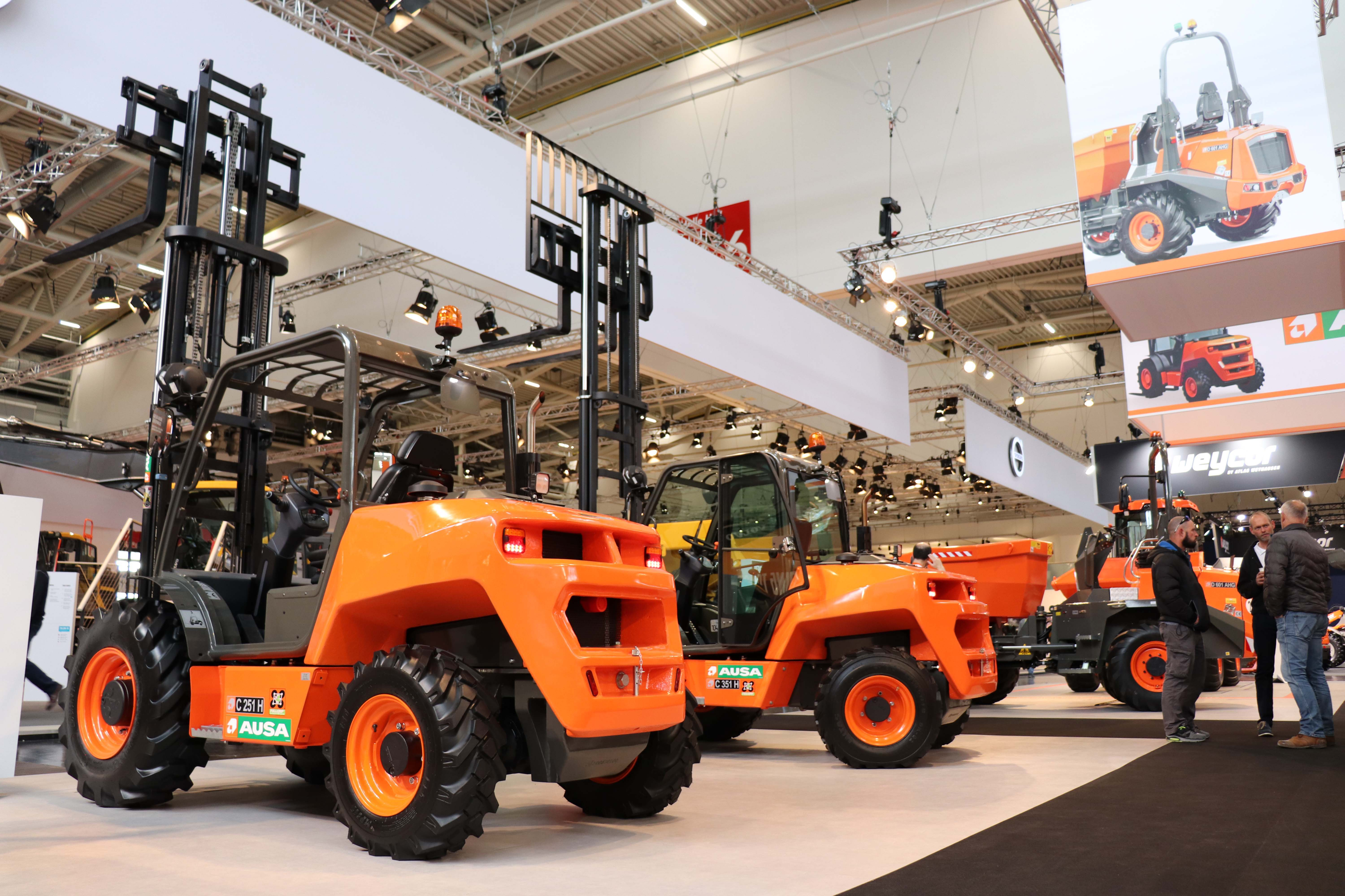 AUSA showcases its revolutionary products at Bauma | AUSA