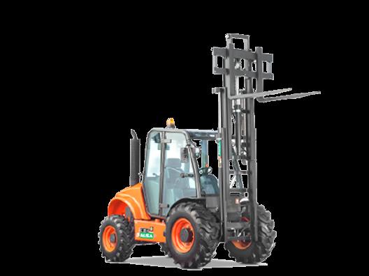 2 tonne AUSA C200H 4x4 forklift